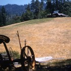 Bar-7-Old-House-and-JD-horse-drawn-mower