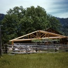 Newlely-framed-trusses-above-Eating-Platform,-1959